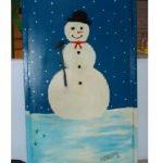 Sneeuwpop huren houten