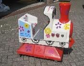 Kiddy ride trein verhuur huren huur